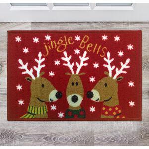 Jingle Bells Doormat 40x60cm