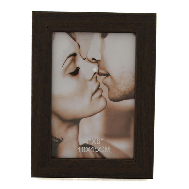 Brown Photo Frame 6x4""