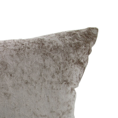 Velvet Crush Cushion Cover 2 Pack 45x45cm - Mocha