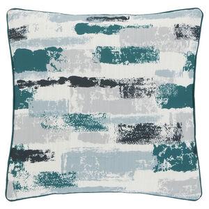 Painterly Cushion 45x45cm - Green