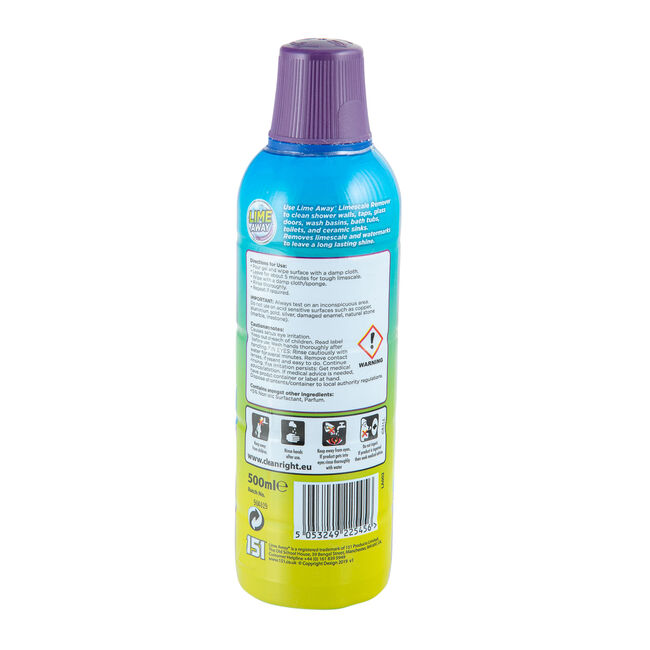 Lime Away Lime Scale Remeover Gel 500ml
