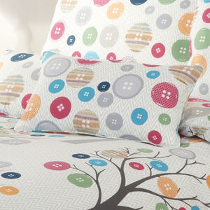Button Tree Cushion 30x50cm