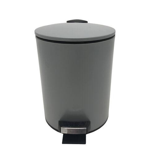 Maya Pedal Bin 3L - Soft Grey