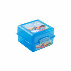 Klip It Airtight Lunch Cube Colour