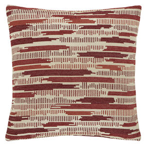 Incandescent Red 45x45 Cushion