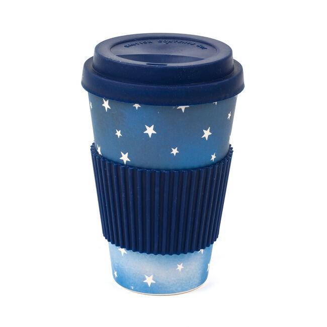 Cosmic Print Bamboo Sippy Mug