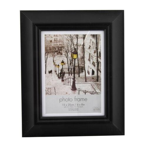 5x7 SIMPLY BLACK Photo Frame