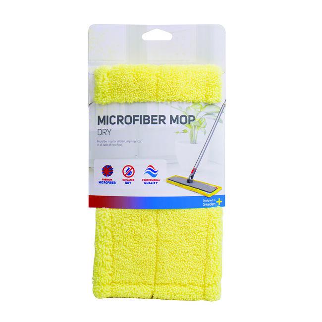 Nordic Stream Flat Microfibre Dry Mop Head