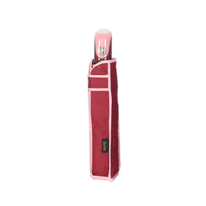 Susino Semi-Auto Compact Burgundy Umbrella w/Cover