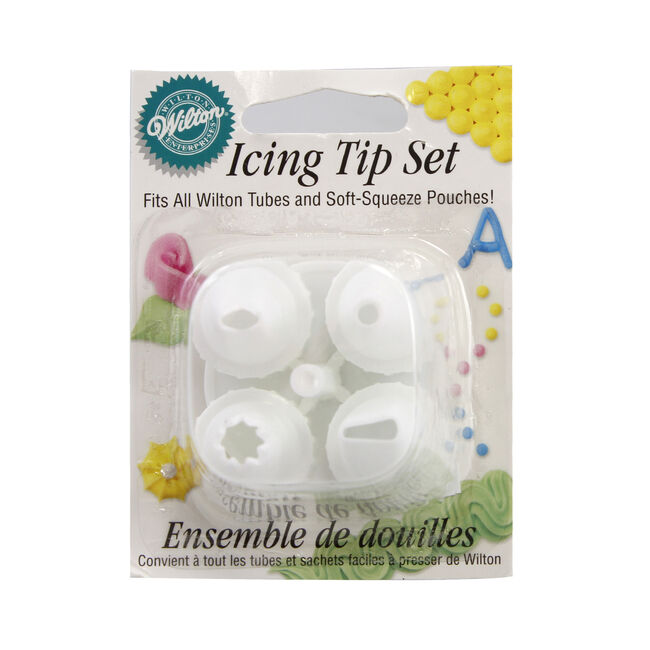 Wilton Decorating & Nail Set 5Pc
