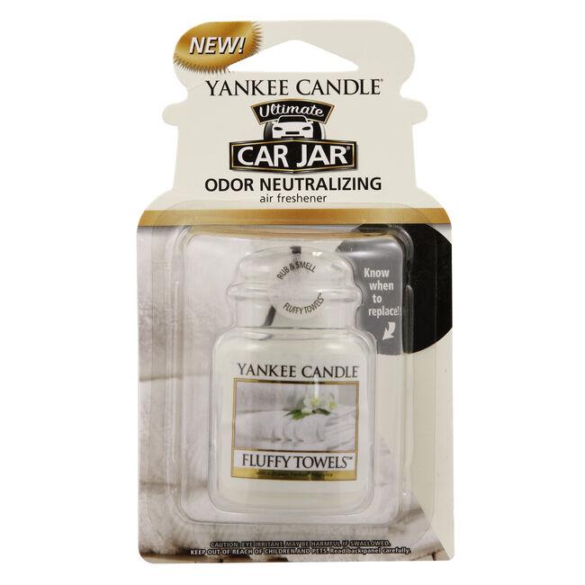 Yankee Candle Fluffy Towels Car Jar