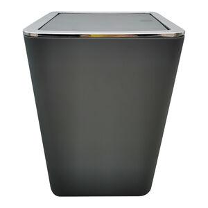 Madison Bathroom Bin 5L - Charcoal