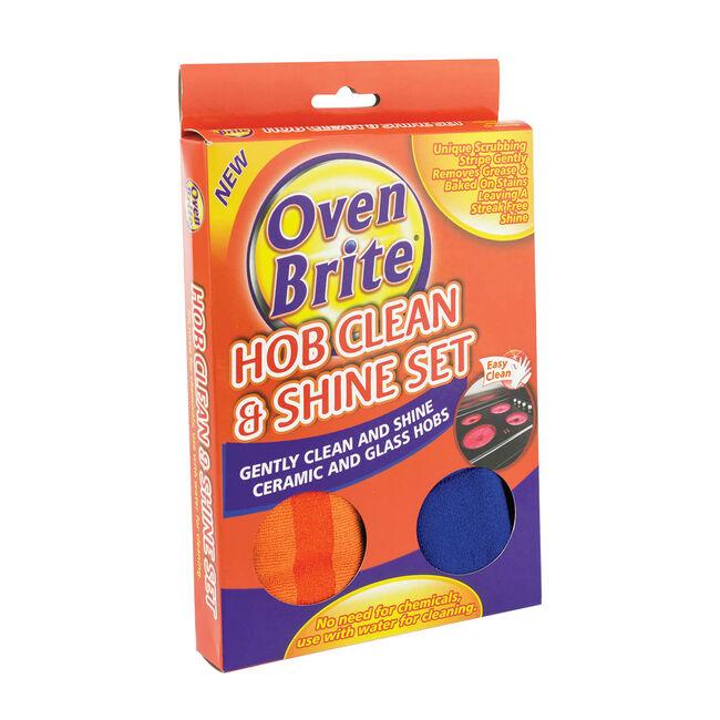Oven Brite Hob Clean & Shine Set