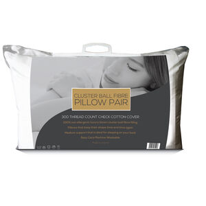 Cluster Ball Fibre Pillow Pair