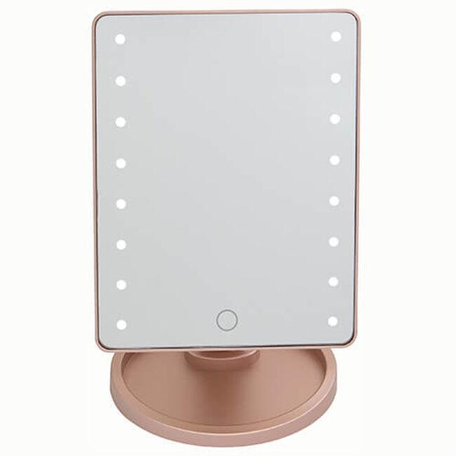 LED Smart Touch Lighting USB Mirror Rose