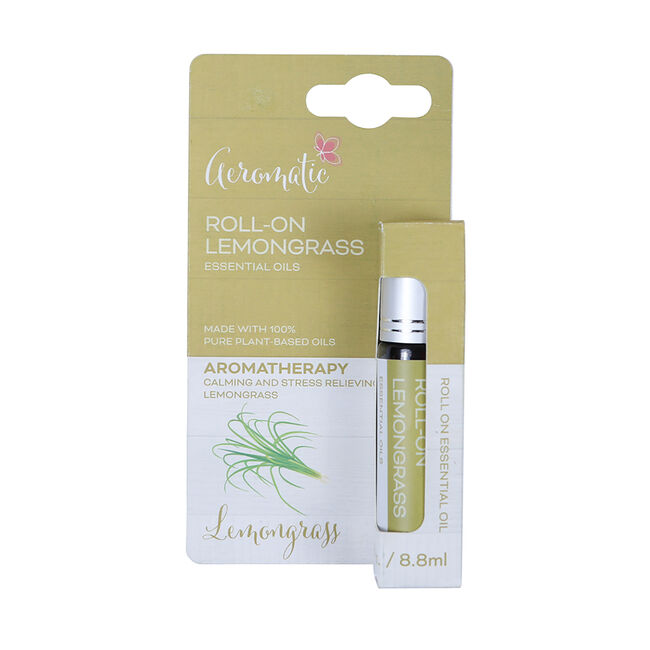 Aeromatic Roll On Lemongrass Essential Oil
