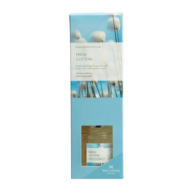 Modern Floral Fresh Cotton Reed Diffuser