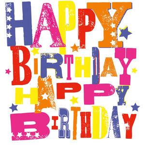 Happy Birthday Napkins 20 Pack