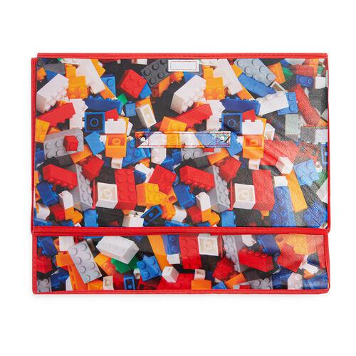 Bricks Foldable Storage Chest