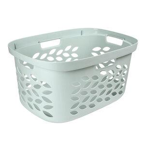 Ezy Storage Fleur Laundry Basket 63L - Pistachio