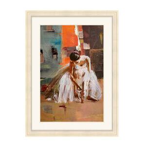 Dancer Resting Framed 55cm x 75cm