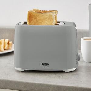 Presto 2 Slice Toaster - Grey