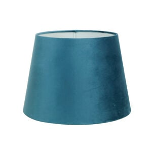 Deep Teal Velvet Shade 12""