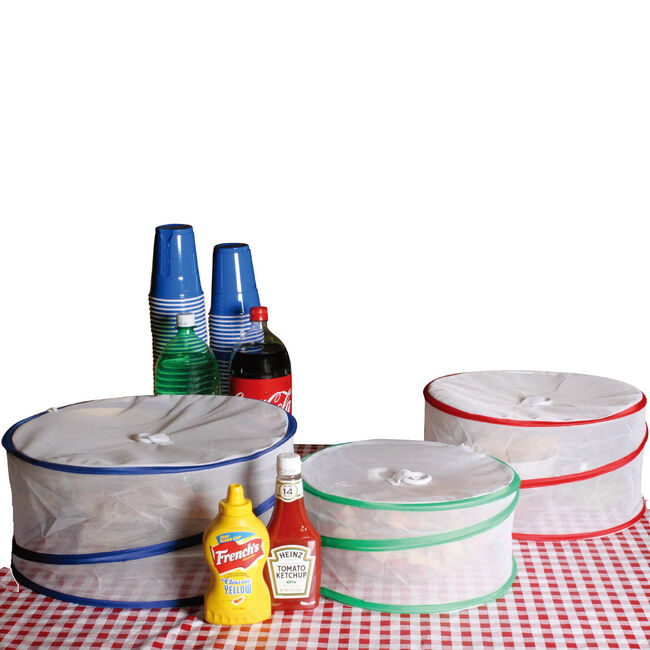 Pop Up Food Covers 3Pk