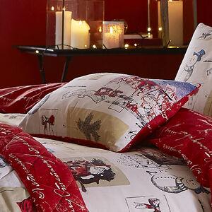 Vintage Santa Cushion 30x50cm