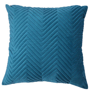 Triangle Stitch Cushion 58x58cm - Teal