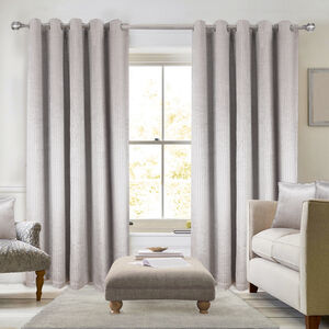 BLACKOUT & THERMAL LUREX SILVER  90X90 Curtain