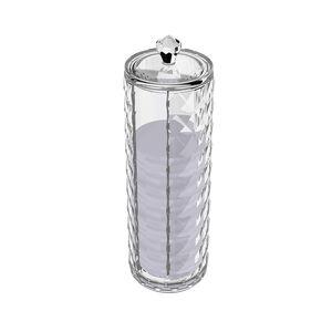 Cosmetic Diamond Round Cotton Storage Unit