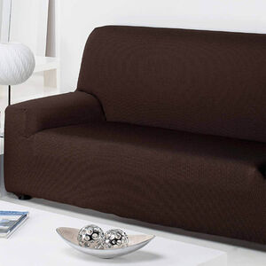 Easystretch Armchair Cover Chocolate