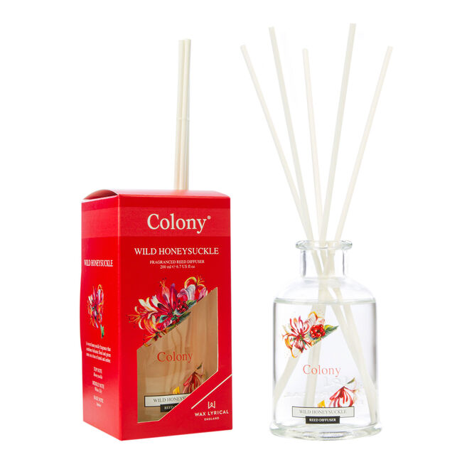 Colony Wild Honeysuckle Reed Diffuser 200ml