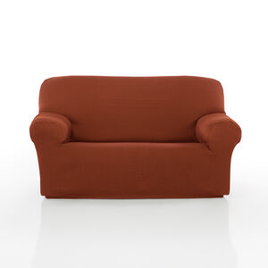 Regal Mills Easystretch Rust Sofa Cover