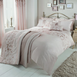SINGLE DUVET COVER Classical Floral Cream