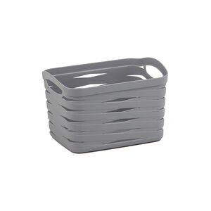 Ribbon Storage Basket 4L - Soft Grey