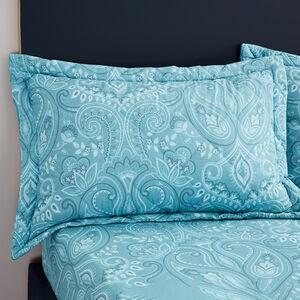 Avril Aqua Pillowshams 50x75cm
