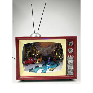 Christmas Led Moving TV Scene