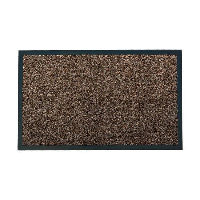 Chestnut Grove Washable Brown Door Mat