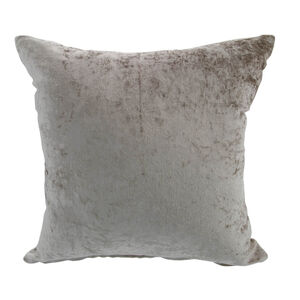 Velvet Crush Mocha Cushion Cover 2Pk 45cm x 45cm