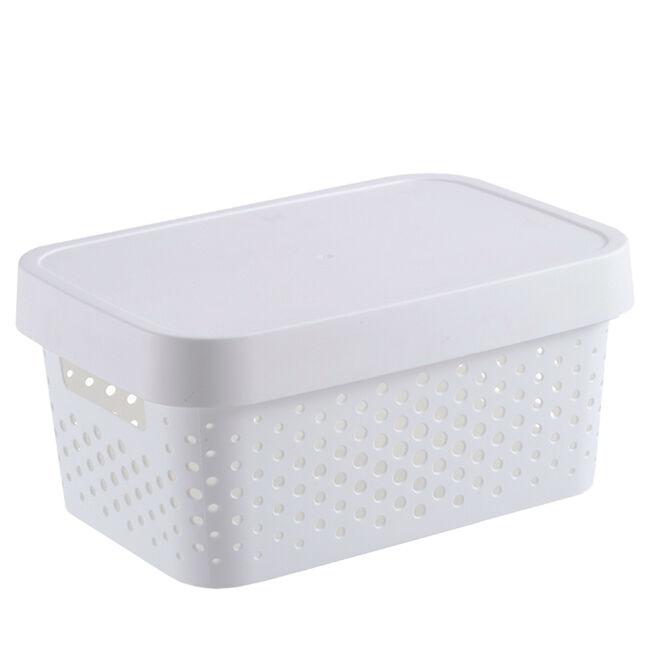 Infinity White Basket 4.5L