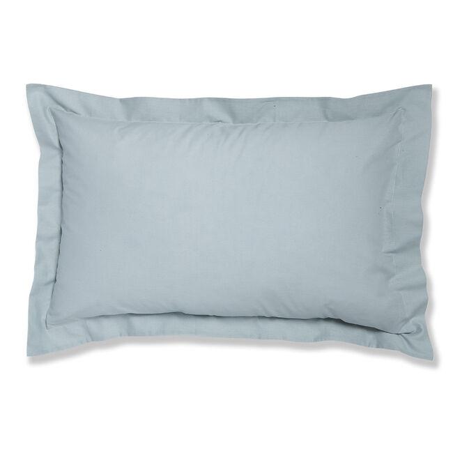 Luxury Percale Oxford Pillowcase Pair - Duck Egg