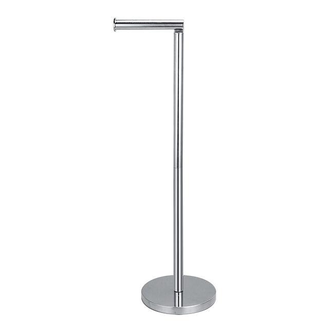 Freestanding Toilet Roll Spike & Holder