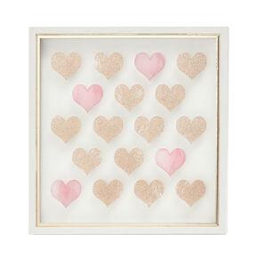 Love Print Framed 33X33cm