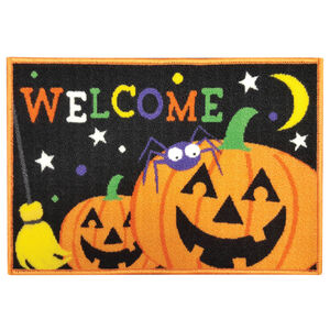 Pumpkin Welcome Doormat 40cm x 60cm