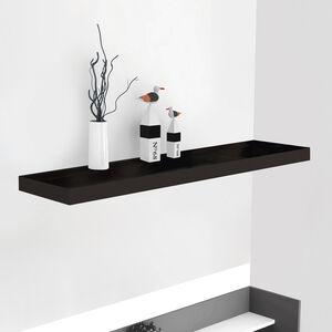 Bergen 80cm Black Effect Floating Shelf