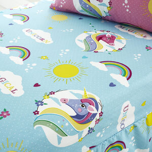 Unicorn Magic Fitted Sheet