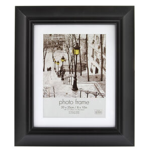 Simply Black Photo Frame 6x8""