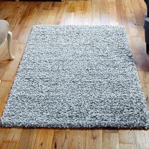 ELSA SHAGGY PLAIN 80x150cm Grey/White